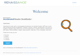 Accelerated Reader Bookfinder screenshot