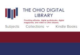 Ohio Digital Library screenshot