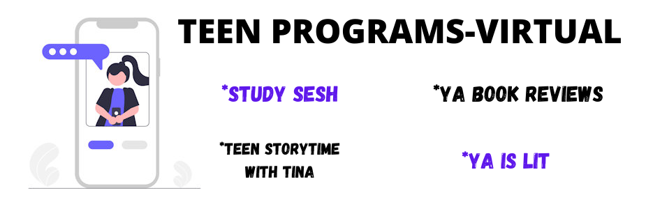 TEEN PROGRAM FLYER FOR TEEN PAGE