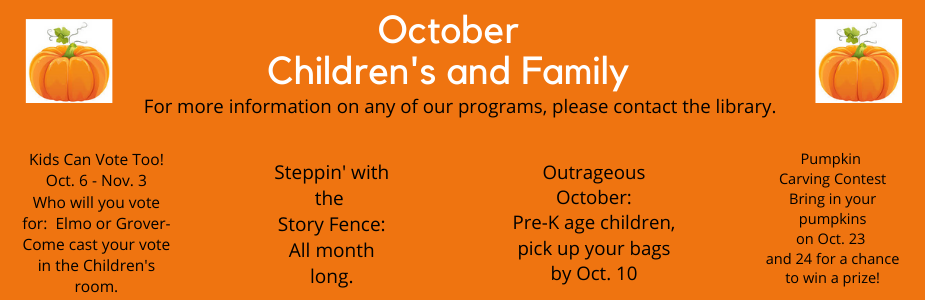 October program flyer